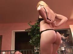 Girl likes riding bareback