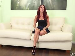 Milf Monique Alexander masturbates in sexy high heels porn tube video