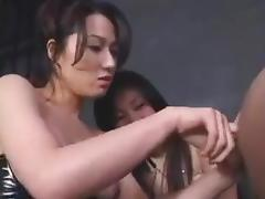 Hot Japanese 2 on 1 femdom porn tube video
