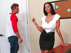 My hot teacher Ava Addams tube porn video