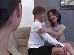 Lesbian Swingers, Ass, Ass Licking, Group, HD, Lesbian