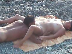 Beach, Beach, Mature, MILF, Russian, Sex