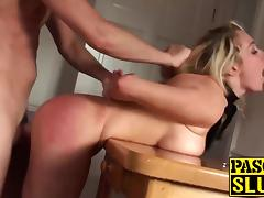 Handcuffs, Amateur, Blonde, Bondage, Doggystyle, Fucking