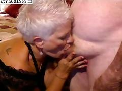 Granny sucks my dick in big tit amateurs clip