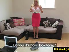 Audition, Ass Licking, Audition, British, Casting, Cum