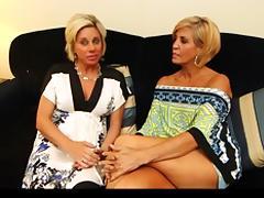 Granny Threesome tube porn video