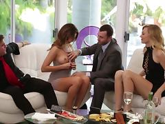 these big-timers know how to party @ more than friends porn tube video