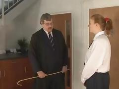 Caning of Justine tube porn video