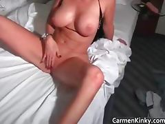 Sexy Carmen having funny with some part6 tube porn video