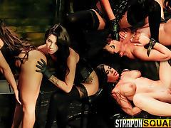 Obedient Sex Slave Alexa Pierce Worships Mistress Esmi Lee - StrapOnSquad