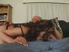 Kaiya lynn drops by to show off her assets and skills