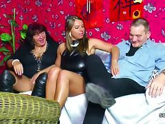 Old German Couple Seduce Big Tit Teen to Fuck in Threesome tube porn video