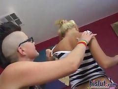 Aubrey fucked her friend