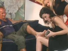 Foot spa porn tube video