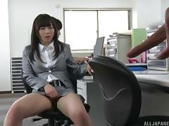 Boss, Asian, Babe, Boss, Couple, Cum