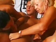 MILF, German, Group, Mature, MILF, Orgy
