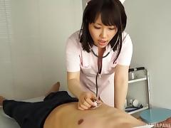 Big breasted Japanese nurse fucked by a doctor