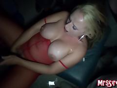 Wife Bukkake at Swinger's Club porn tube video
