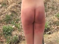 Spanking, BDSM, Outdoor, Punishment, Spanking