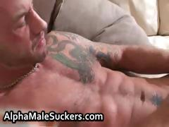 Super hot gay men fucking and sucking tube porn video