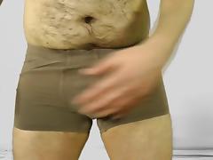 Hairy Amateur Solo Male Masturbation tube porn video
