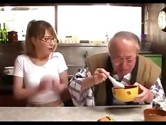 Old man and Beautiful Japanese Girl TIA 2 porn tube video