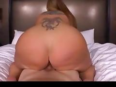 Thick Redhead Reverse Cowgirl! For the Asslovers........... porn tube video