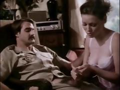 Great retro handjob porn tube video