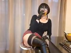 Boots, Blowjob, Boots, Facial, Mature, MILF