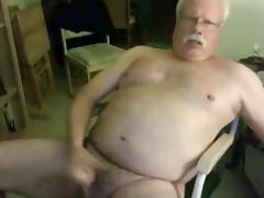 sexy grandpa stroke (no cum) tube porn video