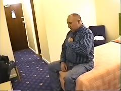 Grandpa Stroke in Hotel Room