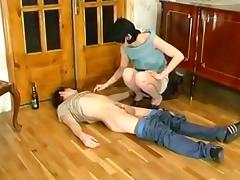 Mom and Boy, 18 19 Teens, Clothed, Femdom, Fucking, Mature