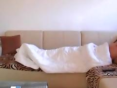 At Home Banging With His Dirty Girlfriend tube porn video