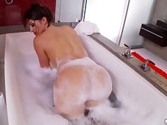 Bath, Babe, Bath, Brunette, Close Up, Cunt
