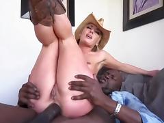 Sexy Sheena, BBC anal sex! porn tube video