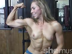 Sexy Denise Works Out porn tube video