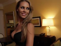 Reality, Blonde, Blowjob, Hotel, Lingerie, Reality
