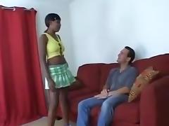 Swwet Ebony Tenager