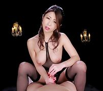 Tempting Japanese chick shows off her natural pair of boobs porn tube video