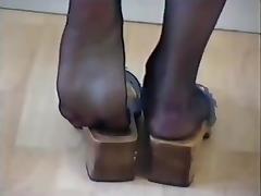 Boots, Boots, British, Feet, Latex, Nylon