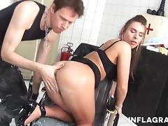 INFLAGRANTI German Anal Squirting