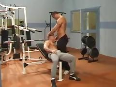 Muscle Men At Gym tube porn video