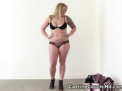 Audition, Ass, Audition, Big Tits, Blonde, Blowjob