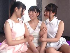 Japanese Orgy, Asian, Cute, Fingering, Group, HD