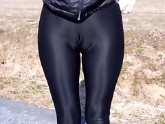 Latex, Blowjob, Latex, Spandex, Leggings