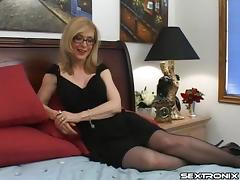 Pornstar icon Nina Hartley is a born cock sucking slut