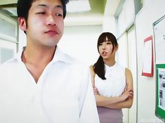 Japanese teacher sucks then fucks her favorite student porn tube video