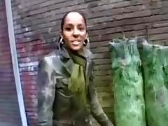 Hot Exotic Euro college girl fucks good porn tube video