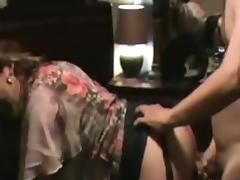 Hot Latina milf creampie filmed by husband porn tube video