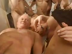 Three Sluts Get Fucked And Cummed On By Multiple Guys porn tube video